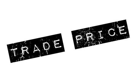 Trade Price rubber stamp