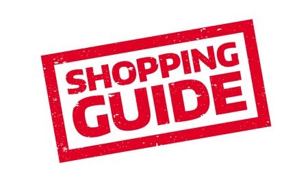 Shopping Guide rubber stamp Illustration