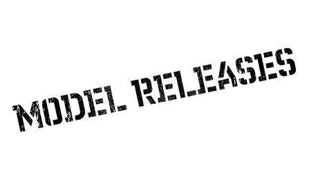 clemency: Model Releases rubber stamp Stock Photo