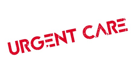 urgent: Urgent Care rubber stamp Illustration
