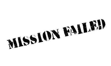 canceled: Mission Failed rubber stamp