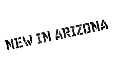 New In Arizona rubber stamp 版權商用圖片 - 81368134