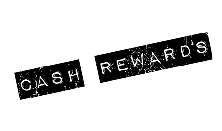 Cash Rewards rubber stamp. Grunge design with dust scratches. Effects can be easily removed for a clean, crisp look. Color is easily changed.