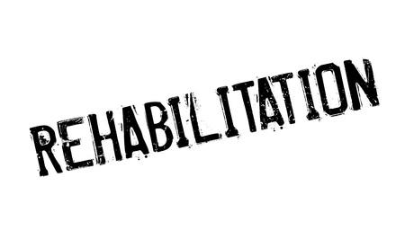Rehabilitation rubber stamp