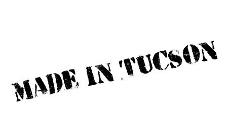 Made In Tucson rubber stamp Illustration