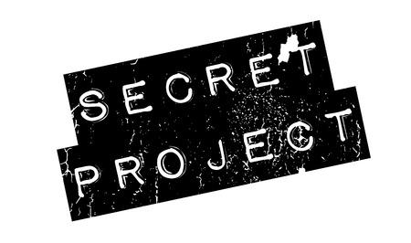 비밀 프로젝트 도장 스톡 콘텐츠 - 81350311
