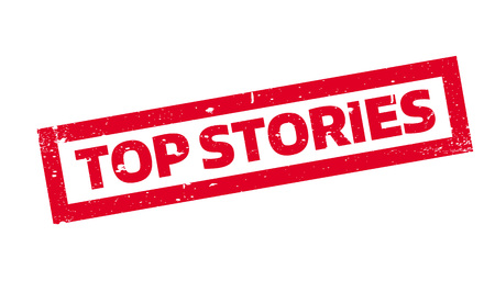 Top Stories rubber stamp