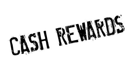 Cash Rewards rubber stamp