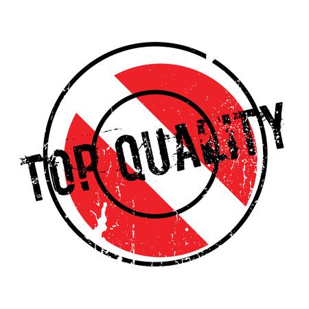 Top Quality rubber stamp Vektorové ilustrace