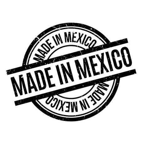 pueblo: Made In Mexico rubber stamp