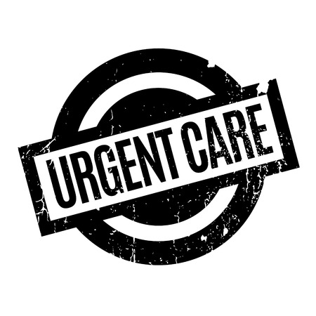 quickly: Urgent Care rubber stamp Illustration