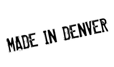 maverick: Made In Denver rubber stamp