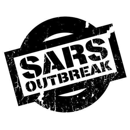 risky: Sars Outbreak rubber stamp