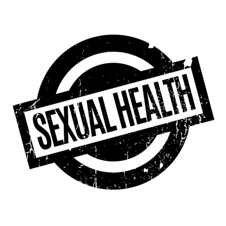 Sexual Health rubber stamp