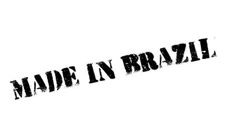 innovate: Made In Brazil rubber stamp