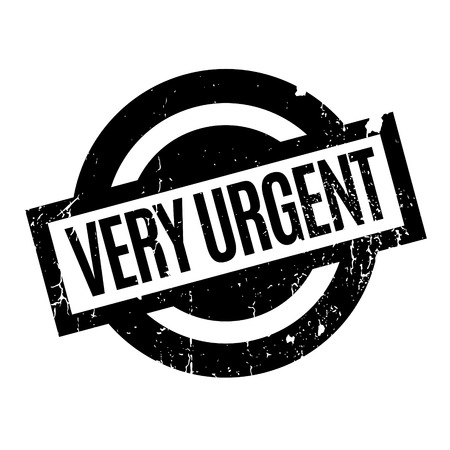Very Urgent rubber stamp