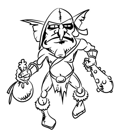 Cartoon image of goblin