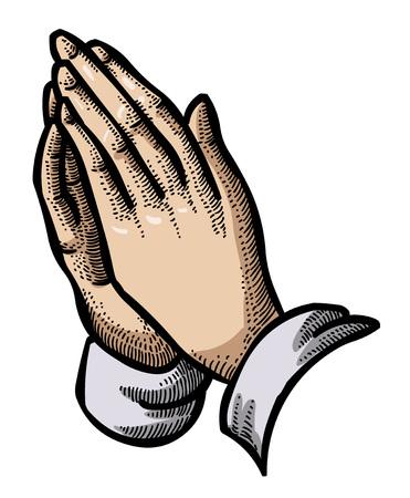 Cartoon image of Pray