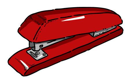 스테이플러의 만화 이미지