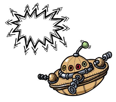 flying saucer: flying saucer 100