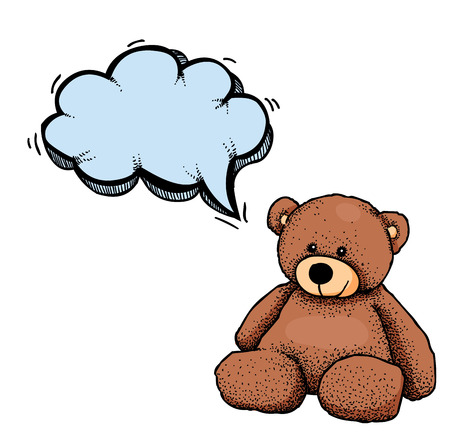 lug: teddy bear-100