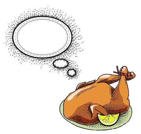 twit: cooked turkey-100