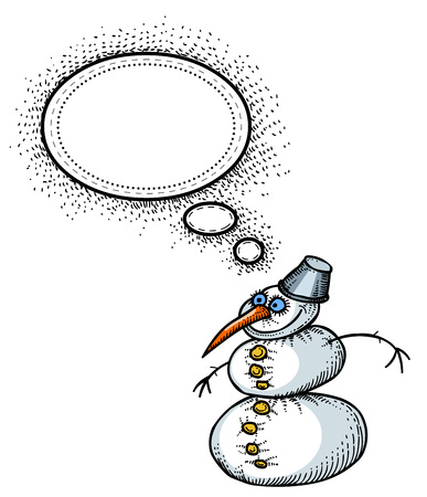 snowman-100 Stock Vector - 81594815