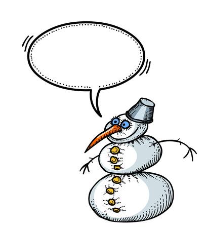 snowman-100 Stock Vector - 81607804