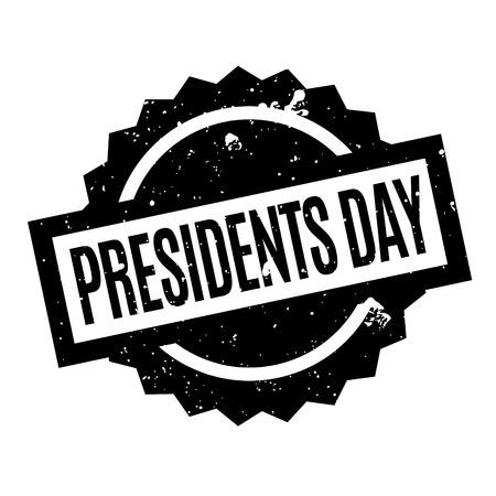 大統領の日スタンプ