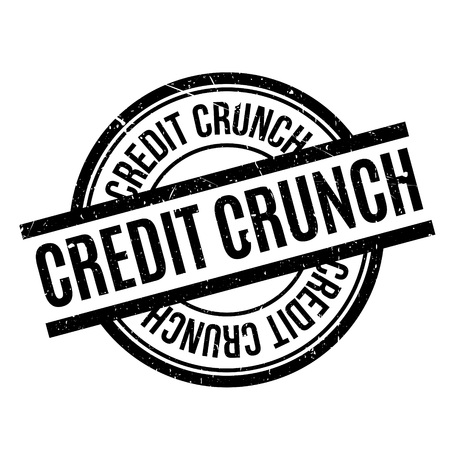 credit crunch: Credit Crunch rubber stamp