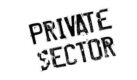 Private Sector rubber stamp