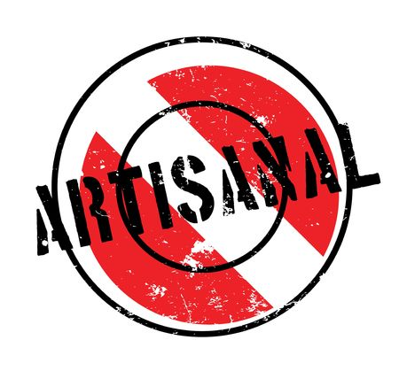 Artisanal rubber stamp Illustration