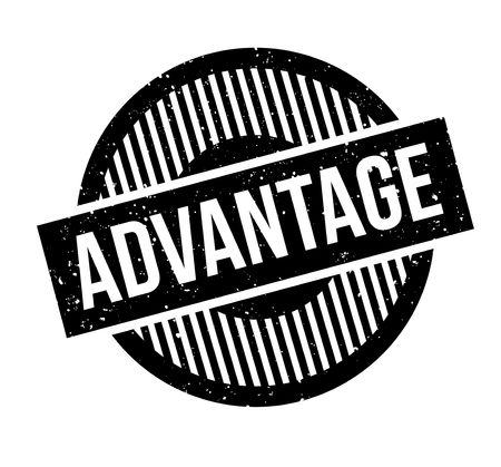 dominance: Advantage rubber stamp. Grunge design with dust scratches. Effects can be easily removed for a clean, crisp look. Color is easily changed.