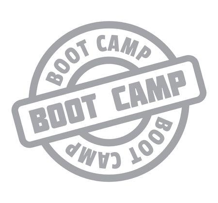 prison facility: Boot Camp rubber stamp