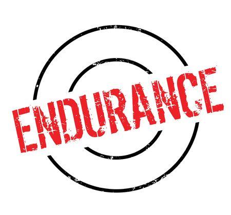 endurance: Endurance rubber stamp