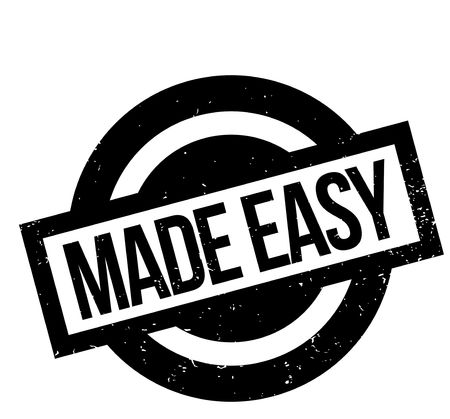 Made Easy rubber stamp
