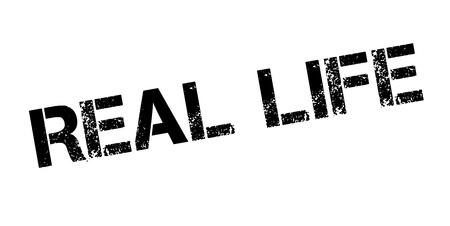 legitimate: Real Life rubber stamp