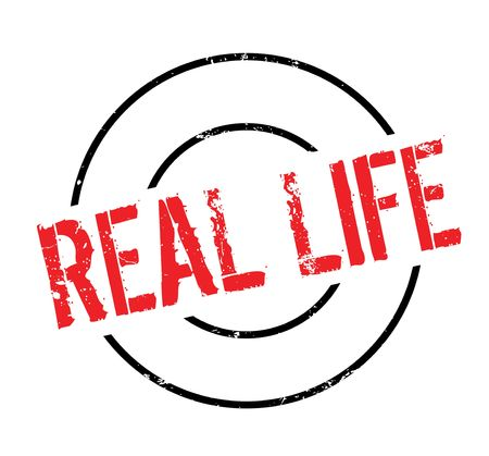 Real Life rubber stamp
