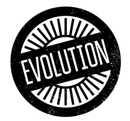 Evolution rubber stamp