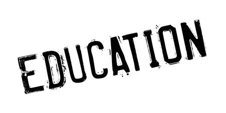 Education rubber stamp Векторная Иллюстрация