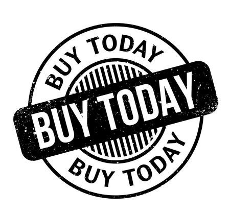 Buy Today rubber stamp