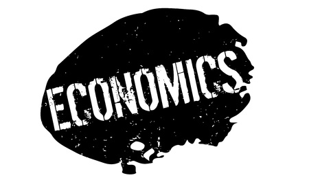 tax policy: Economics rubber stamp Illustration