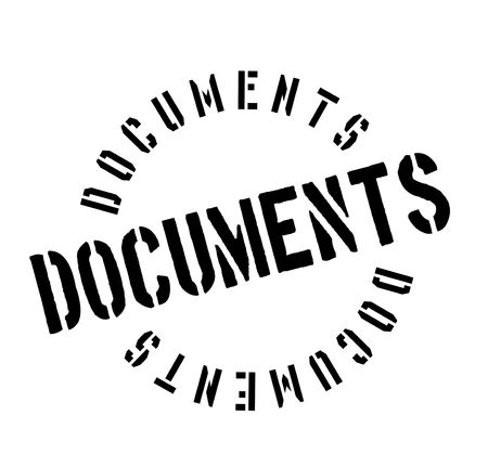 Documents rubber stamp.