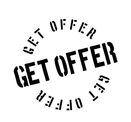 Get Offer rubber stamp