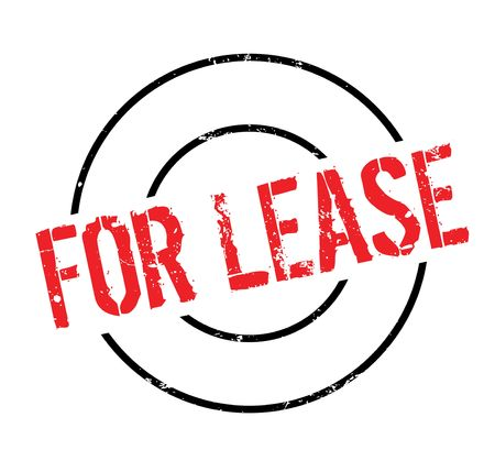 For Lease rubber stamp Illustration