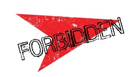 trespass: Forbidden rubber stamp