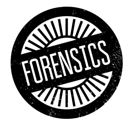 Forensics rubber stamp