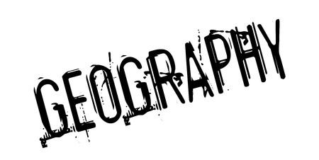 geopolitics: Geography rubber stamp