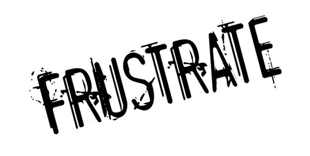 Frustrate rubber stamp. Grunge design with dust scratches. Effects can be easily removed for a clean, crisp look. Color is easily changed. Illustration