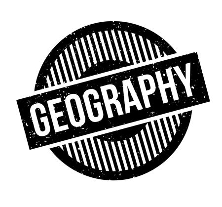 geopolitics: Geography rubber stamp. Grunge design with dust scratches. Effects can be easily removed for a clean, crisp look. Color is easily changed.